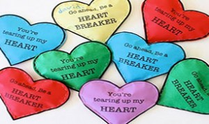 Beautiful Heart Candy Container
