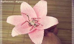 Diy Beautiful Pink Flower