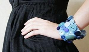 So Cool Button Bracelet