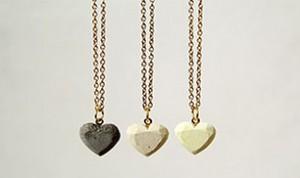 Diy Beautiful Heart Necklace