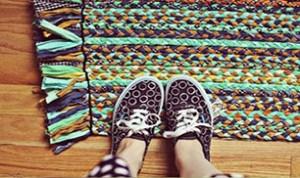 Diy Colorful Doormat
