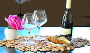 Easy Wine Cork Placemat