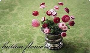 Diy Beautiful Button Flower