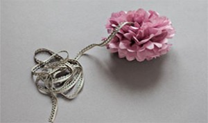 Beautiful Pink Flower Craft