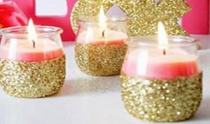 Beautiful Jar Candle Craft
