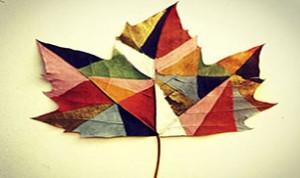 Beautiful Leaf Crafts