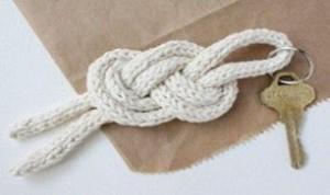 Diy Key Knot