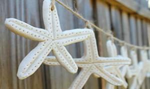 Starfish Salt Dough Garland