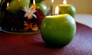 Diy Beautiful Apple Candle