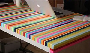 Diy Beautiful Rainbow Table