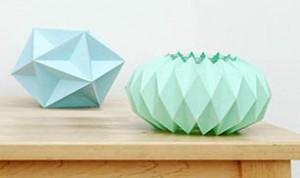 Paper Folding  Candle Holder
