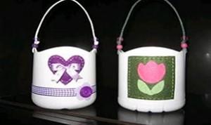 Recycling Plastic Bottle Baskets