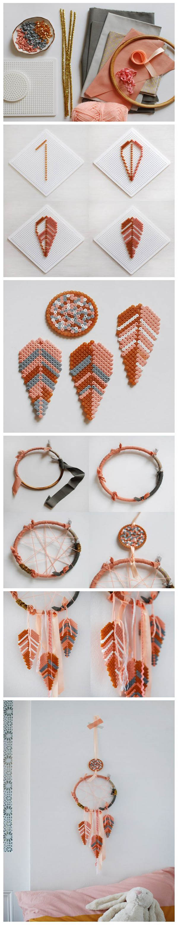 Bead Feather Dreamcatcher