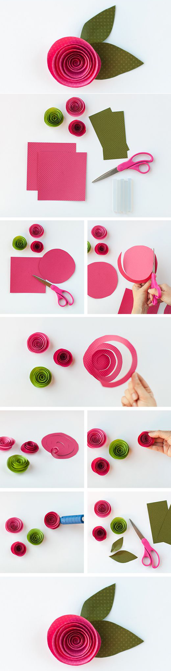 Easy and beautiful paper flower best diy ideas for Flower making at home