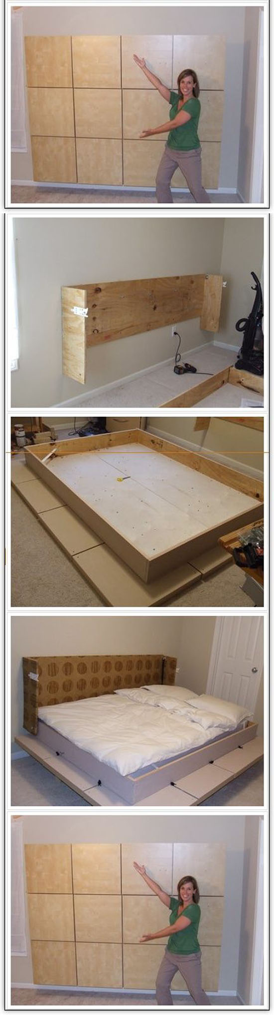 Build A Murphy Bed in Your Apartment11