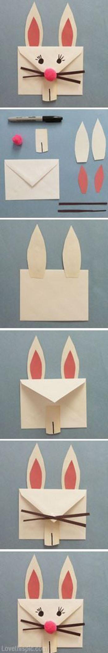 DIY Bunny Envelope11