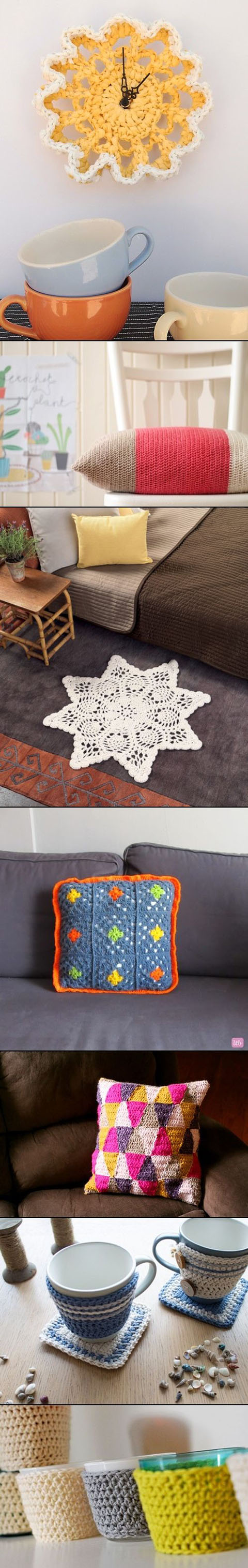 DIY Crochet and knitted Crafts11