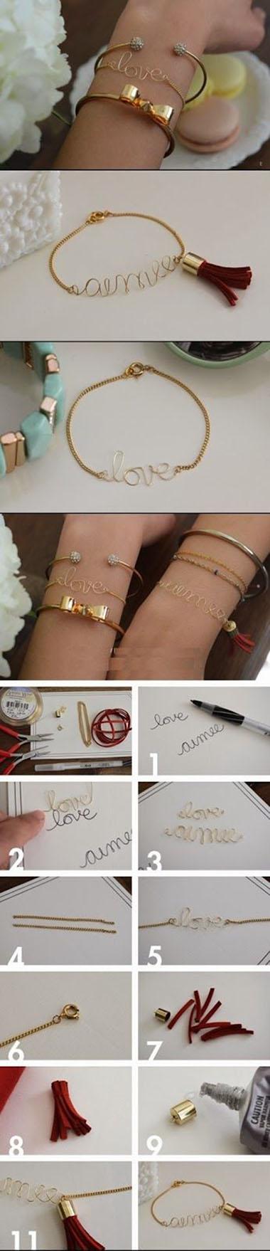 DIY Word Bracelet11