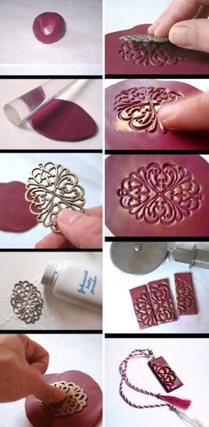 make your cool unique clay necklace11