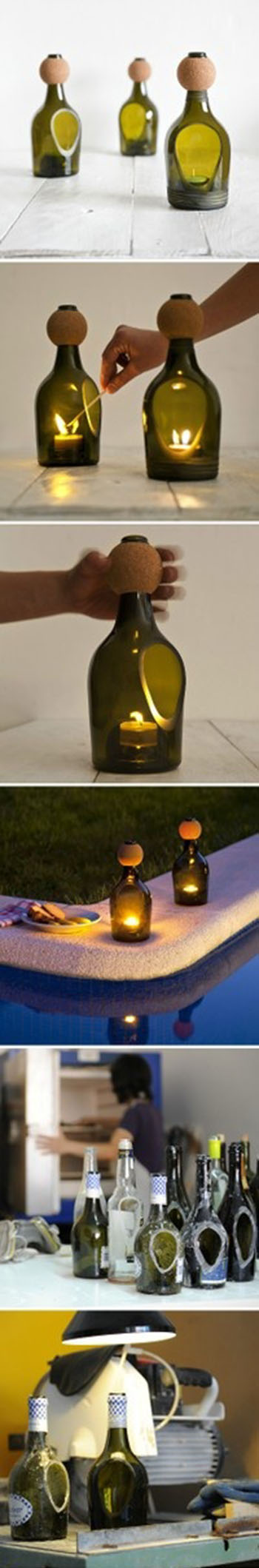DIY Bottle Lantern11