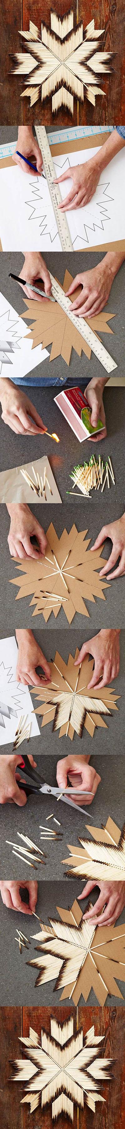 DIY Unique Crafts of Matches22