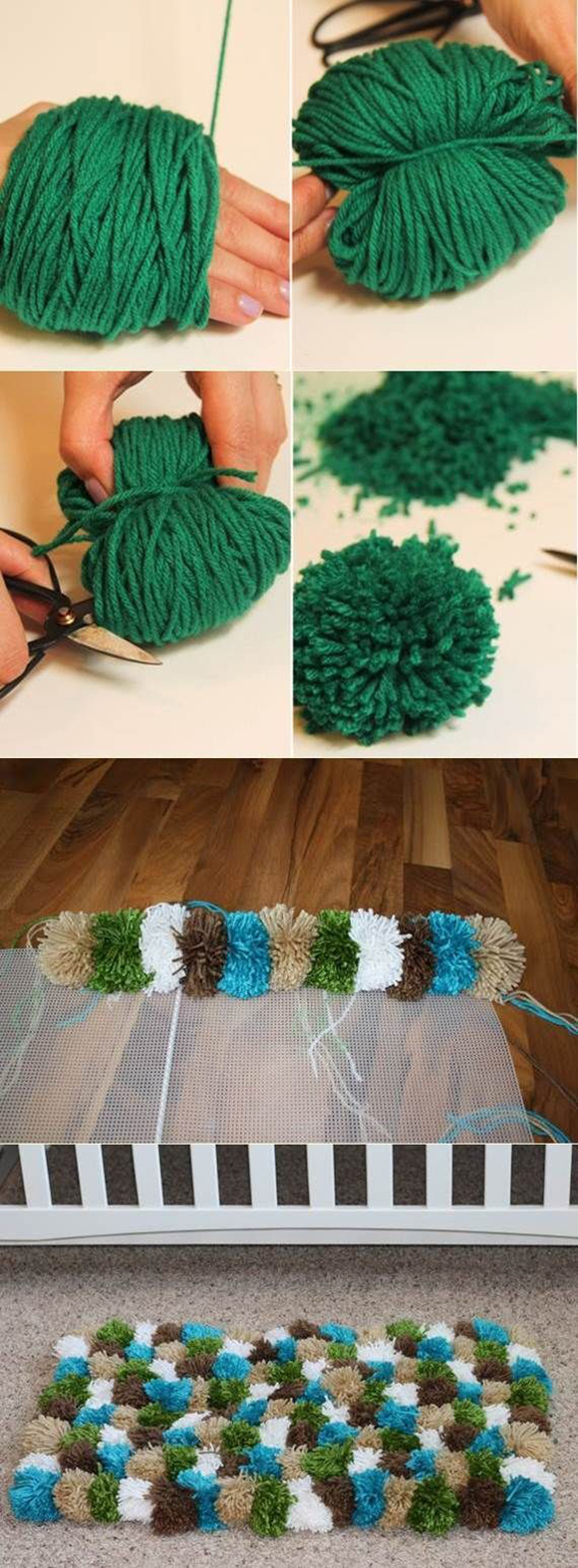 DIY Pom-Pom Decorations11